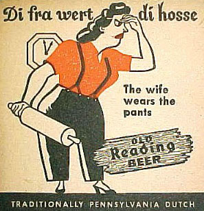 PA Dutch beer coaster