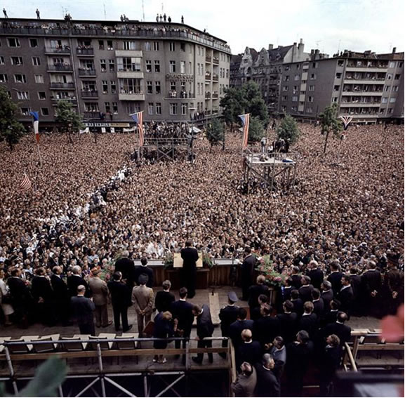 JFK in Berlin, 1963