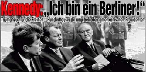 JFK Berlin Bild-Zeitung